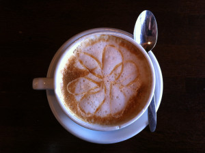 Paris in Town Caramel Coffee Latte