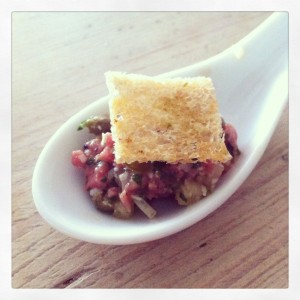 buccan steak tartare