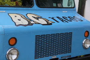 BC Tacos Food Truck Front