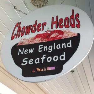Chowder Heads Sign
