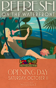WPB Green Market Opening Day