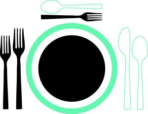Eat Palm Beach Table Setting