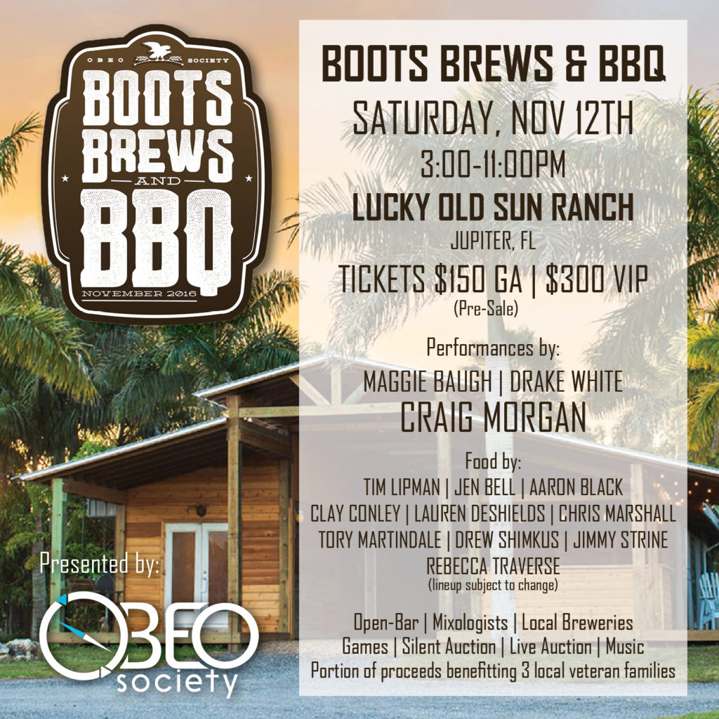 Boots Brews BBQ Graphic
