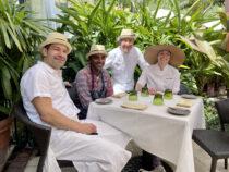 Daniel and chefs